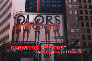 benetton billboard