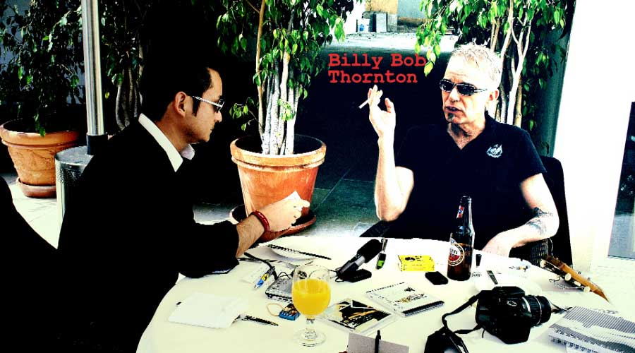 Billy Bob Thornton Interview, sling blade, armagedon, fargo, a simple plan, angelina jolie, brad pitt